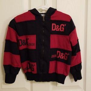 Dolce & Gabbana Junior Zipper Sweatshirt Hood 4